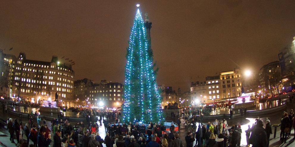 Trafalgar Square's